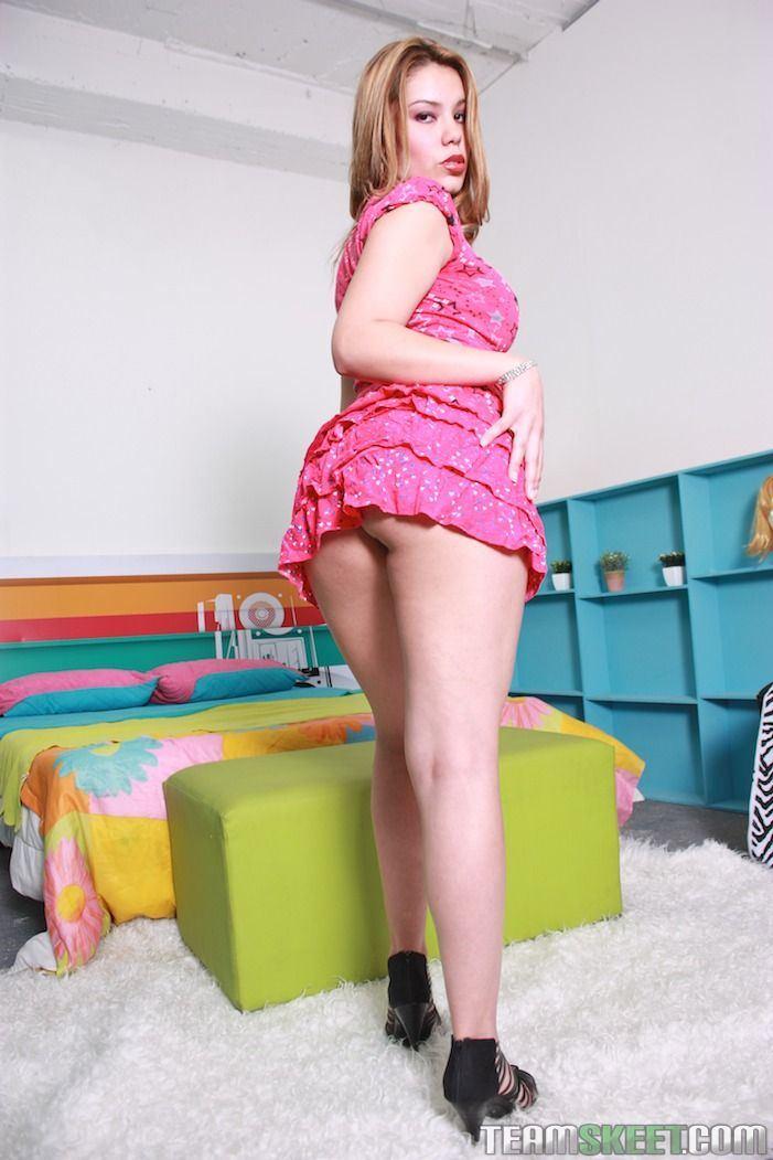 Blonde latina big tits