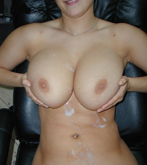 best of Covered cum big boobs gallery