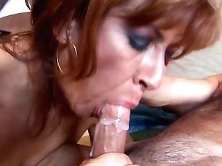 Big blowjob cum swallow