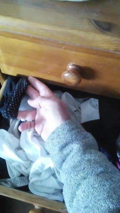 Belle reccomend Dildo in underwear drawer