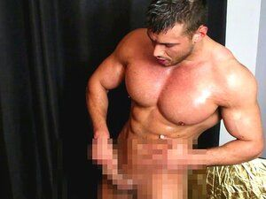 Jeune homme muscle