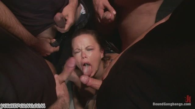 Sgt. C. reccomend 10 guys on one girl gangbang