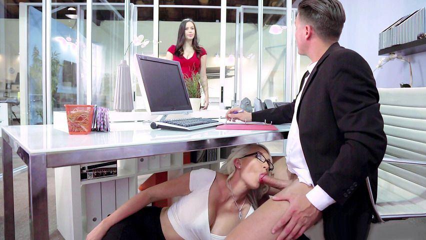 Under desk blow