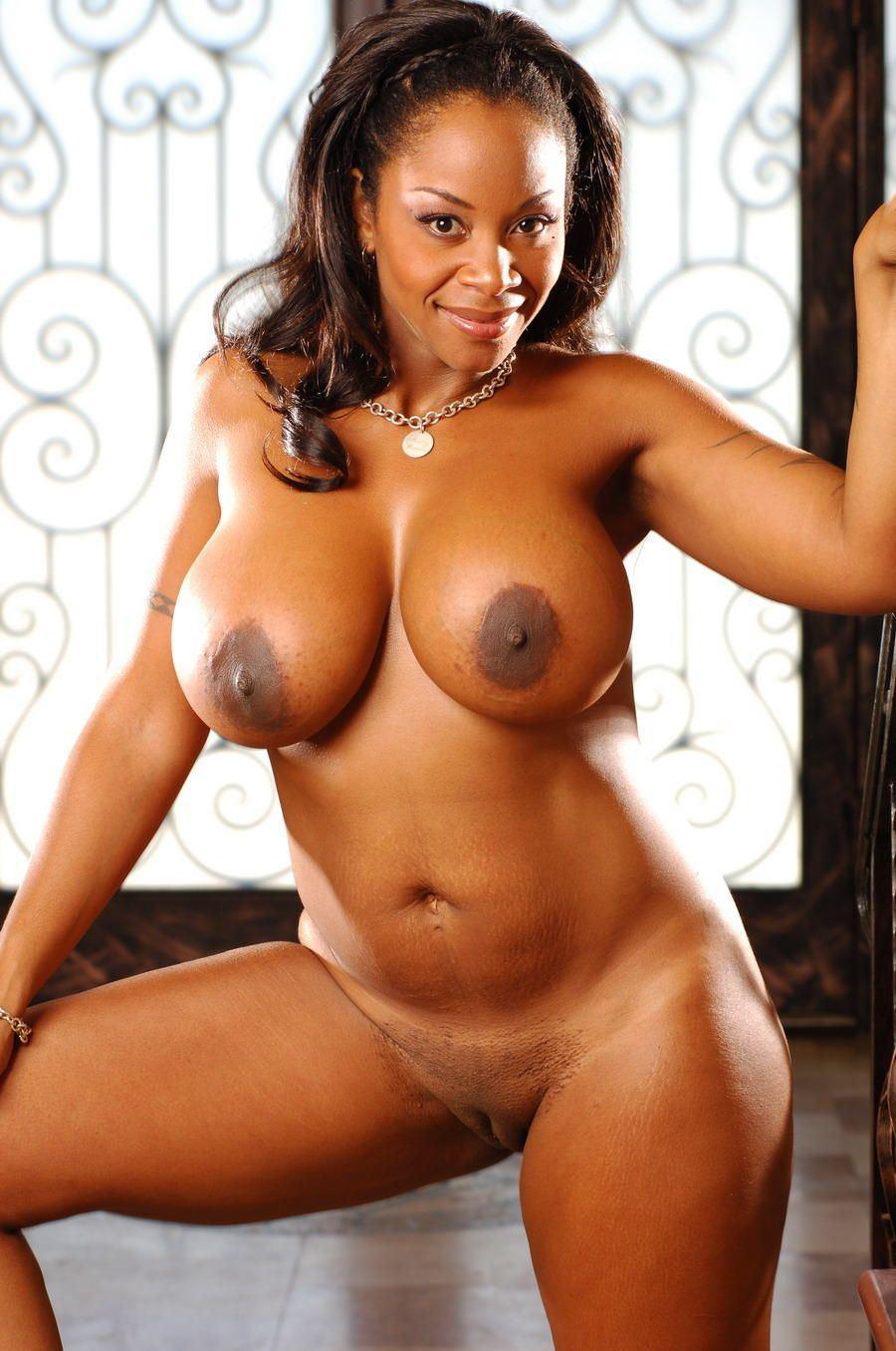 Sexy busty curvy ebony