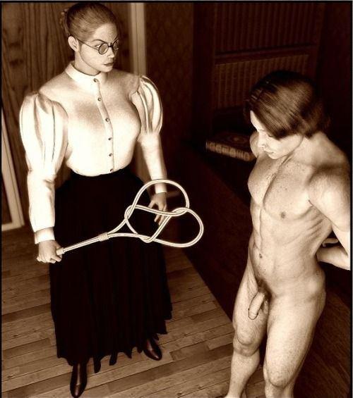 Luna reccomend Strict victorian bondage