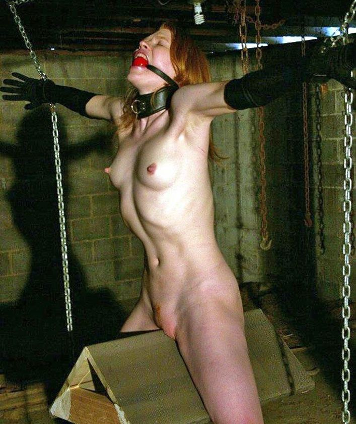 Sinker recomended Riding the wooden bondage