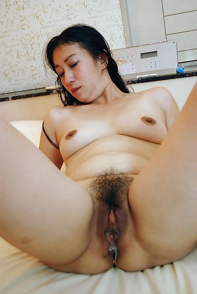Hairy asian girl