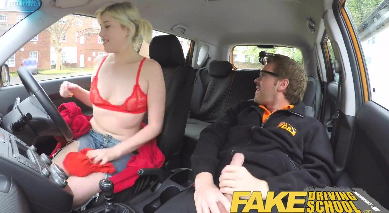 best of Driving squirt fake