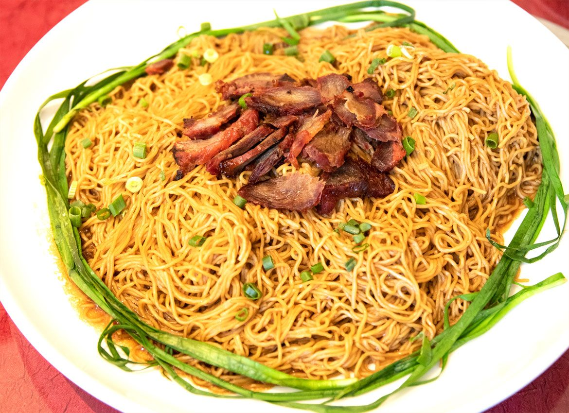 Ground pork with asian style noodles Naked Gallery 2019