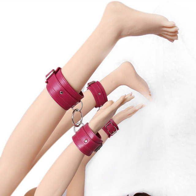Aurora reccomend Leather bondage wrist band