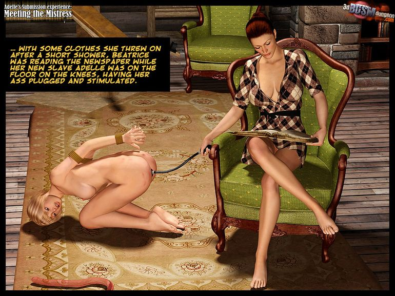 Female bondage femdom of girls