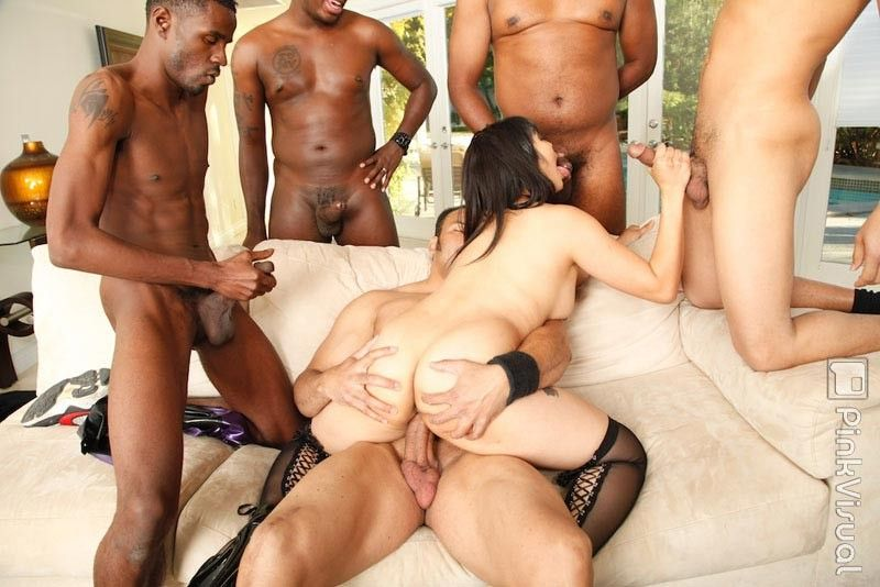 Pipes reccomend Asian Gangbanged By Blacks