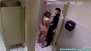 Public toilet couple