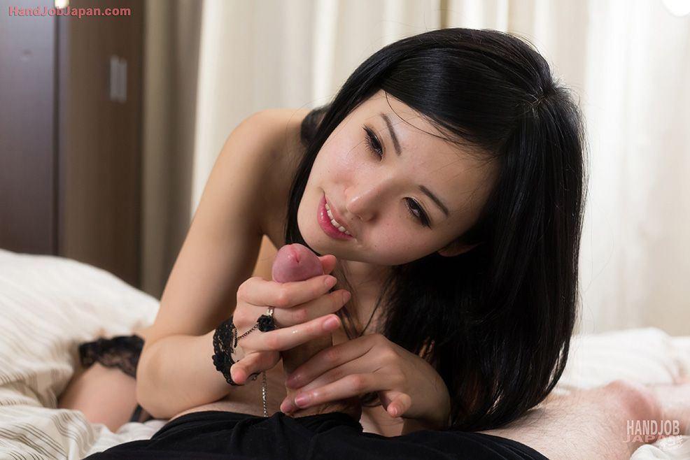 Japan handjob cum
