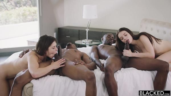 Spike reccomend erotic twins blowjob dick and interracial