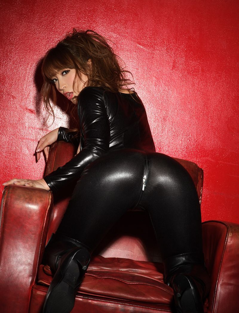 Scratch reccomend Asian pussy black leather