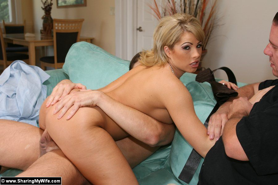 best of Wife man watches fuck his Husband porn another
