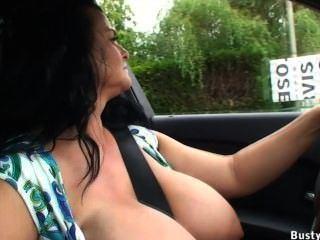 Blue B. recommendet milf car busty