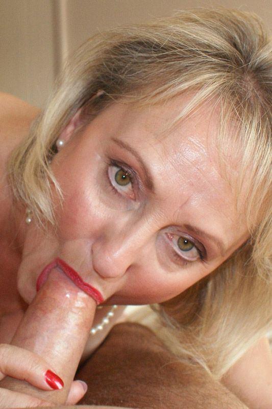 best of Mature blowjob Blonde