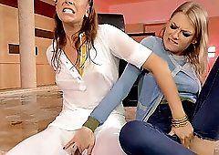 best of Jeans lesbian wet