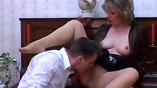 Petunia reccomend Slutload pantyhose blowjobs sex