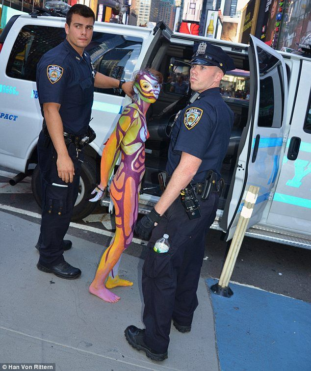 best of Arrest naked girl police