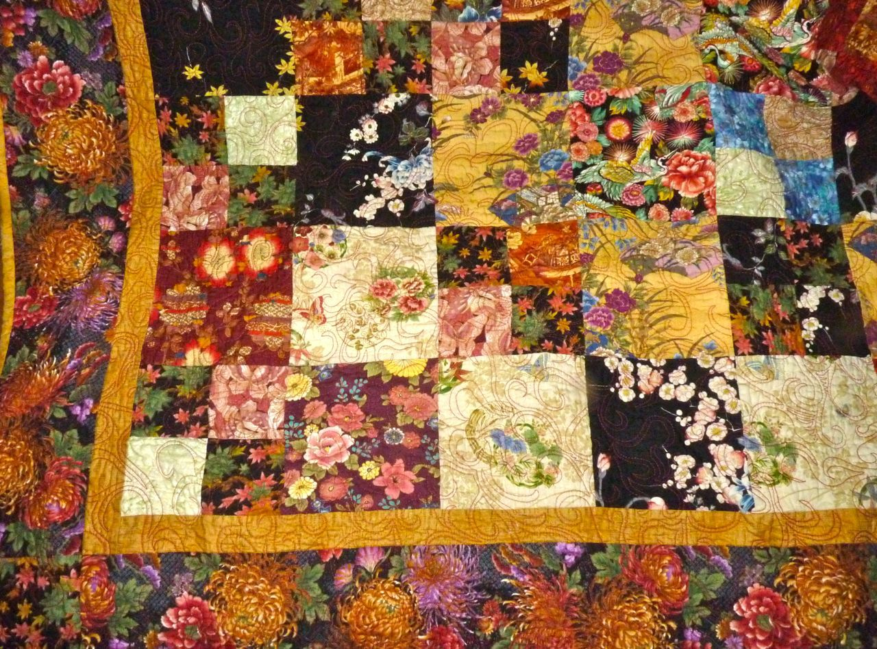 Asian style quilts