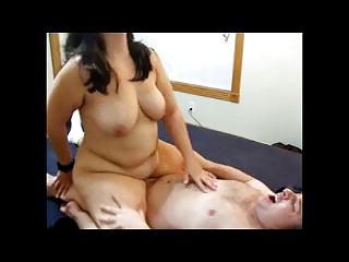 Wife rides until she cums