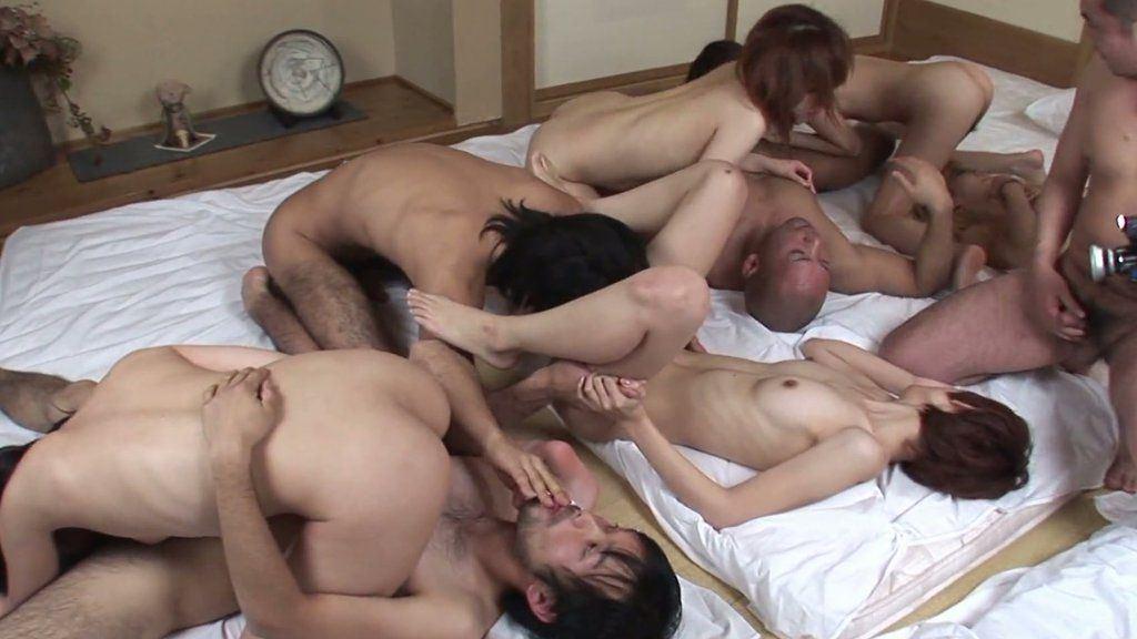 Nudist korean suck cock orgy