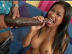 Miss reccomend Fat black dick in asian ass