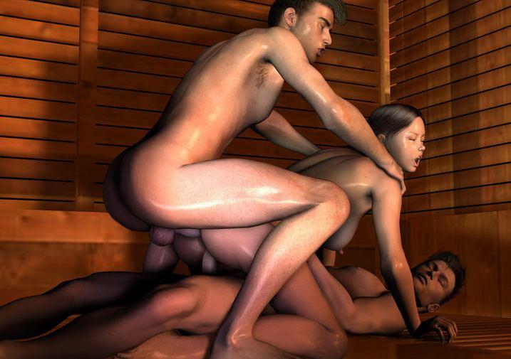 Ella reccomend 3d group sex