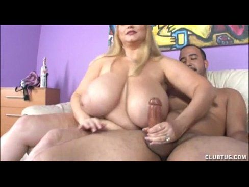 Big boobs handjob