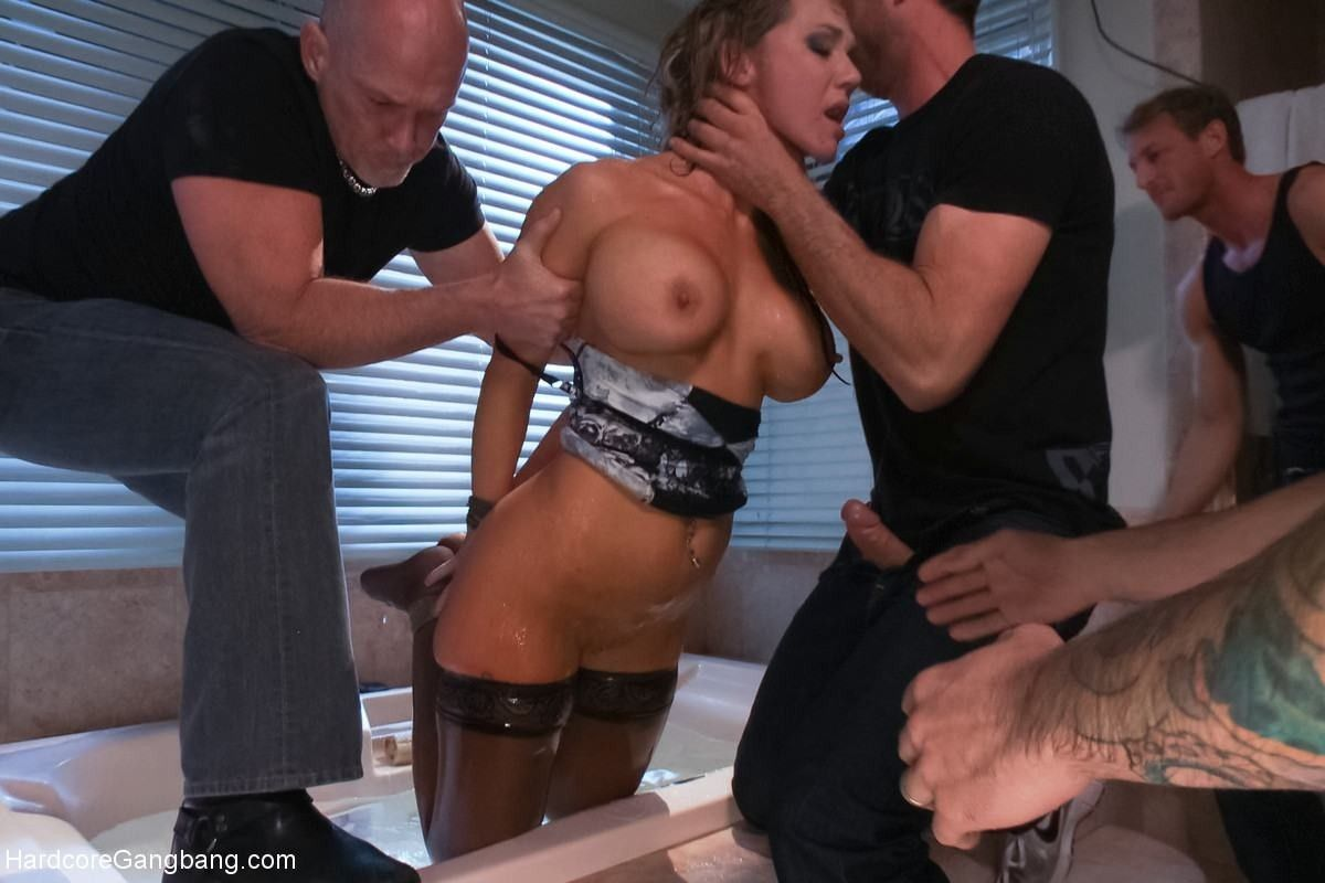 best of Gangbang bdsm wife