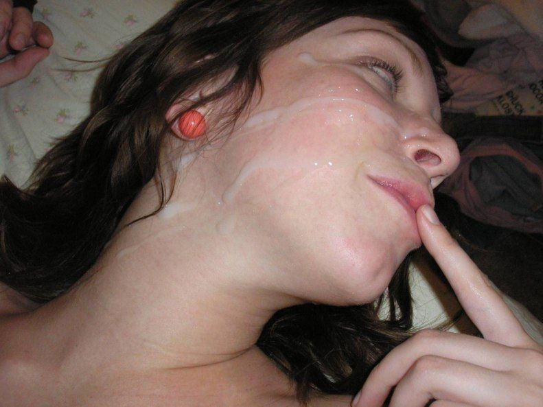 best of Cum facials girl amatuer