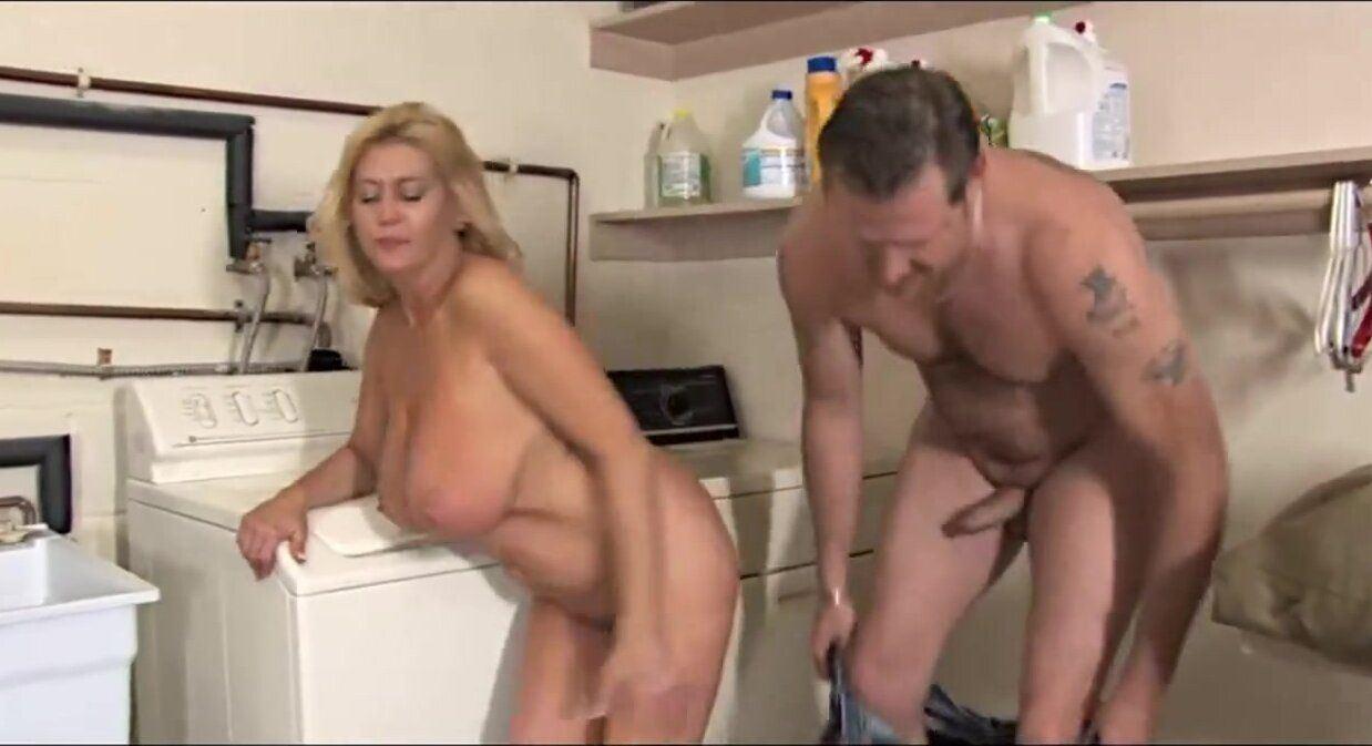 best of Laundry sex Milf