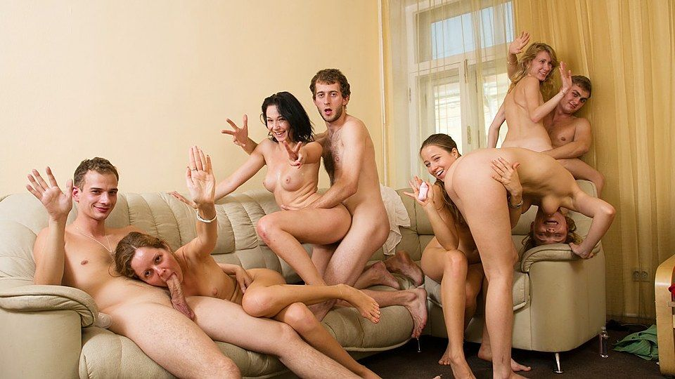 Group friends fuck