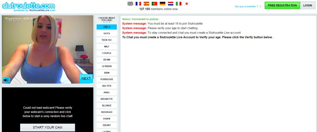 Slap H. reccomend webcam random chat