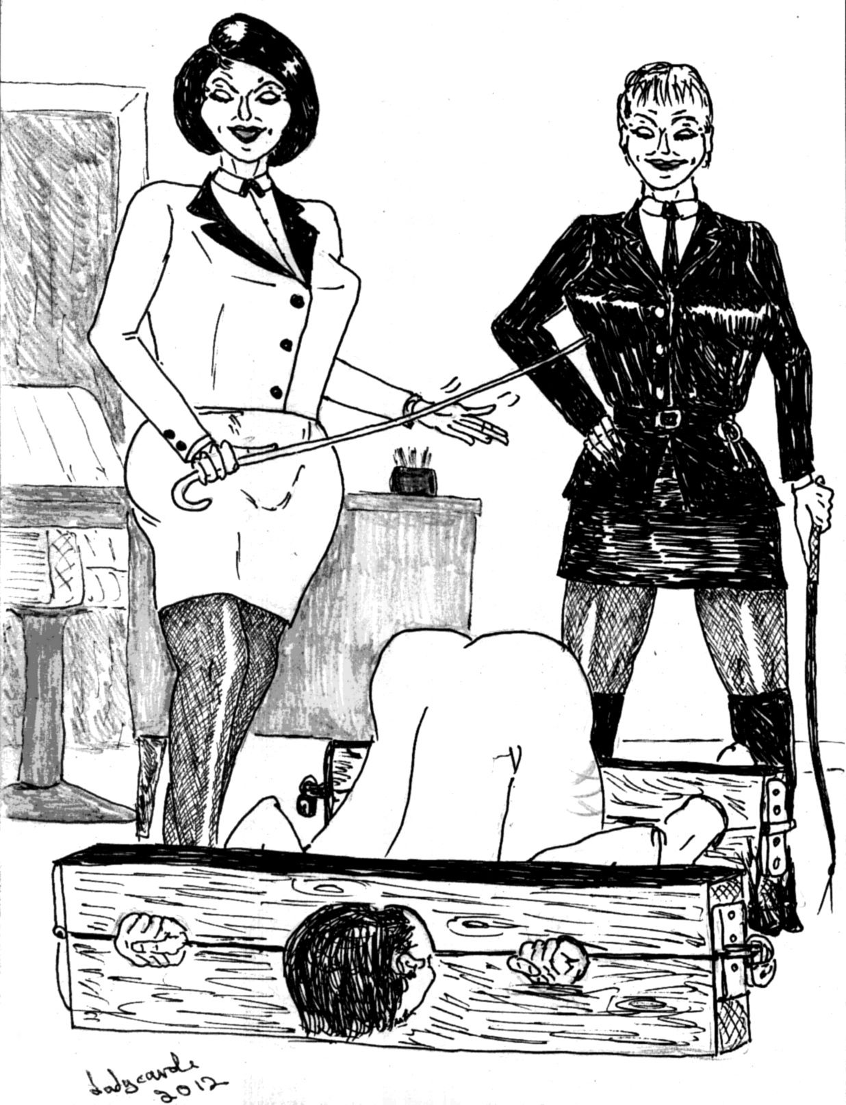 Lord C. reccomend Xtreme femdom art