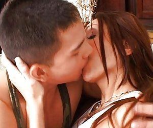 best of Shemales kissing 2