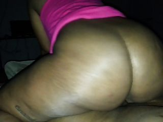Slow motion ass bouncing