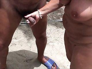 ZB reccomend hairy transgender suck penis on beach