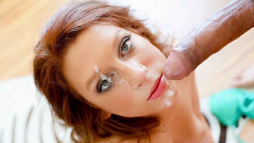 Pornstar naked blowjob cock and facial