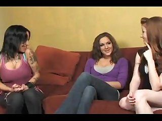 Tattooed Teen Gets Fucked Rough POV Style With Vibrators In Pussy & Ass.