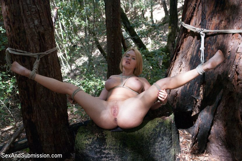 Bdsm naked blowjob cock outdoor