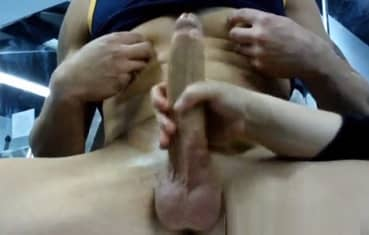 Muzzie reccomend wifes white handjob cock and squirt