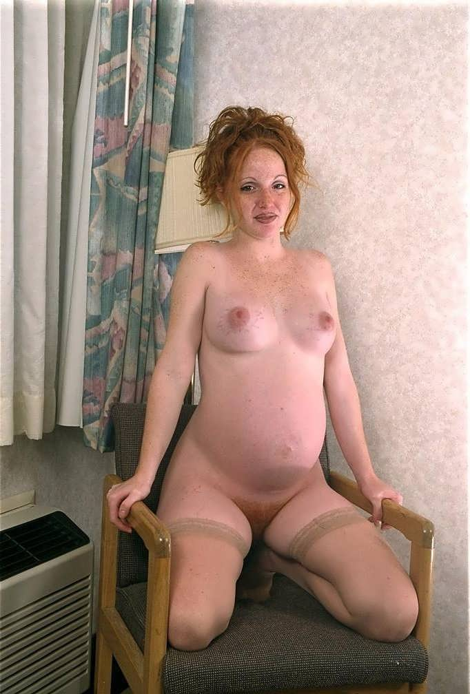 Blue B. reccomend pregnant red head
