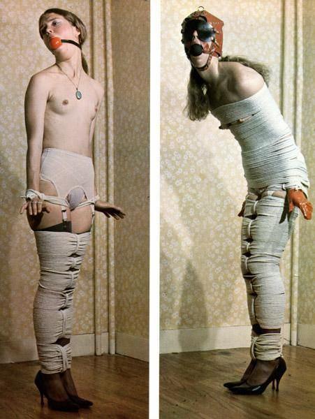Easy bdsm mummification
