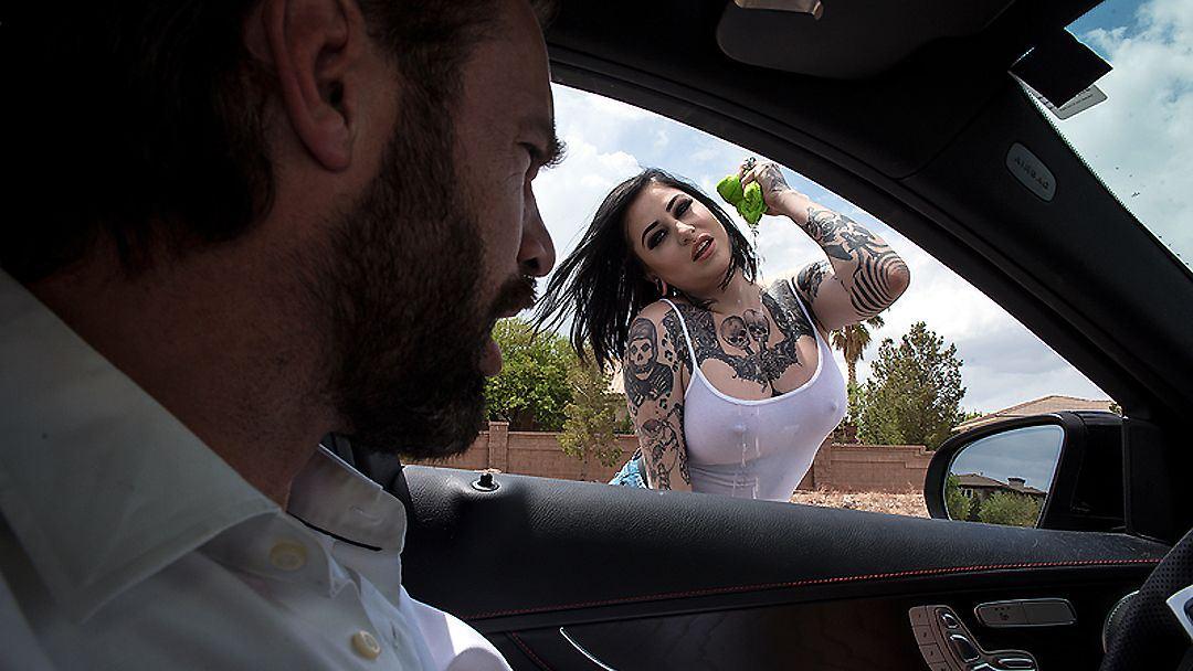 Car wash brazzers