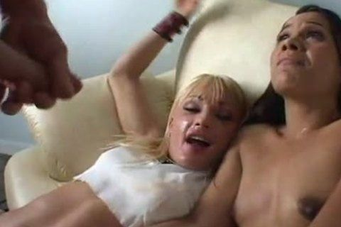 Couple share slut