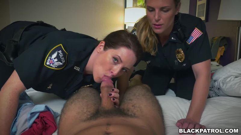 Black cop patrol